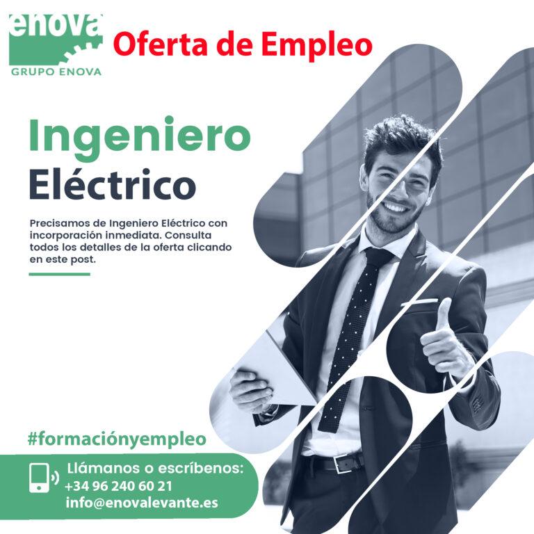 OFERTA DE EMPLEO | Ingeniero Eléctrico